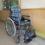 青葉小学校より車椅子の寄贈を受けました