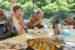 6月の野外食(ジンギスカン)