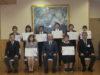 令和2年度 永年勤続職員表彰式を行いました。